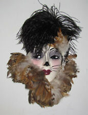 Unique Creations Large Kitty Cat Face Mask Wall Hanging