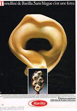 PUBLICITE ADVERTISING 055 1983  les pates BARILLA    tortellini           150515