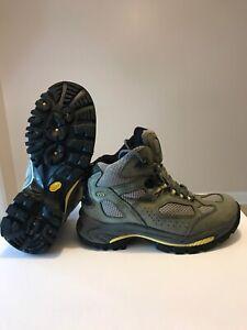 Women's Vasque Breeze III GTX XCR 7463 Olive Gray 8 M hiking GORE TEX boots