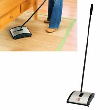 Carpet Sweeper Floor Cleaner Cordless Sweep Manual Non Electric Compact Quiet