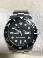 Seiko Skx031 7s26 0040 Watch Submariner Diver Automatic Coke Men 100 Water Proof