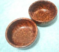handmade moroccan thuya wood 2 bowls two wood holding from morocco as you see ph