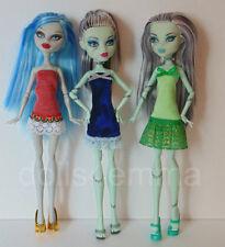 Monster High Doll Clothes Holiday Trio 3 DRESSES Handmade Fashions NO DOLLS d4e