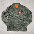 Nike San Francisco 49ers Salute To Service Camo Stitched Jacket Men's Size M