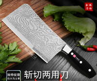 Kitchen Knife Cleaver Butcher Chef  Laser Slice Meat Knives Cutlery tool