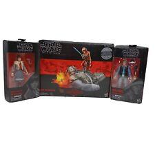Star Wars; Lot of 3 The Black Series Rebel Trooper ,Luke,qi'ra unopened