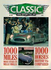 Classic & Sports Car Magazine 1988 July Fiat 2300 Coipe Luigi Fagioli  4384F