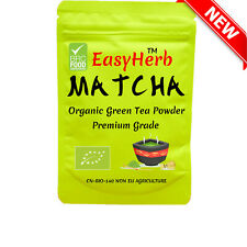 40g EasyHerb™ MATCHA GREEN Tea Powder , ORGANIC , Premium,