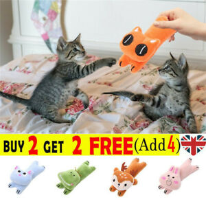 Pet Chewing Toys Cat Toys Funny Interactive Plush Cat Toy Cute  Animal Modeling