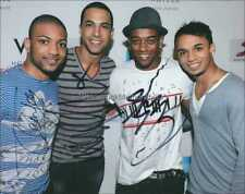 JLS AUTOGRAPHS *OUTTA THIS WORLD, JUKEBOX* HAND SIGNED 10X8 PHOTO