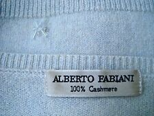 ALBERTO FABIANI 🚭 100% CASHMERE KASCHMIR  🚭 M, L 40,42 ♥️MADE IN ITALY