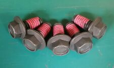 "3/8""-16 x 3/4"" Flange Bolts / Loctite On Threads (Qty 5)"