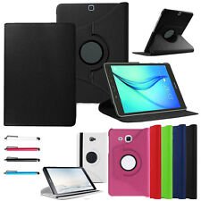 For Samsung Galaxy Tablet Case 360 Rotation Leather Stand Flip Shell Cover Skin
