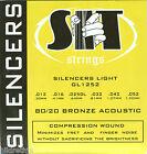 Guitar Strings Acoustic Silencers SIT Light GL-1252  for sale