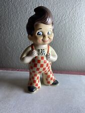 Vintage Bob's Big Boy Burger Piggy Bank Advertising Toy Rubber Vinyl Plastic N