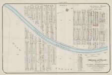 1913, CHARLES E. GOAD, MONTREAL, CANADA, ST. PAUL & EMARD WARDS, COPY ATLAS MAP