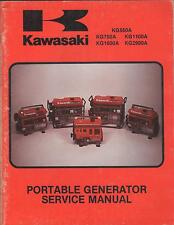 1982 Kawasaki P/N 99963-0046-01 Portable Generator Service Manual (308)