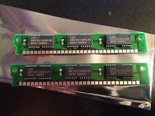 2x 4MB 30-Pin 3-Chip Parity 60ns 4Mx9 LC CC FPM Memory 8MB Apple Mac LC RAM