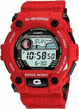Casio G-Shock Mens Digital Wrist Watch G7900A-4  G7900A-4DR Red Rescue New