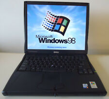 DELL LATITUDE C640 WINDOWS 98 DOS Laptop 2.0GHz 512MB 60GB SERIAL PORT MS OFFICE