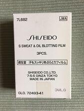 Shiseido Sweat and Oil Blotting Film