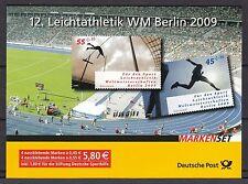 BRD 2009 postfrisch Markenheft MiNr. 80   12. Leichtathletik WM 2009