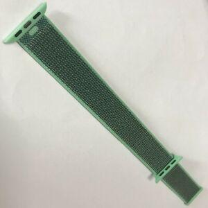 Original OEM Apple watch Series 6 SE 5 4 3 2 Sport loop 38mm 40mm band Spearmint
