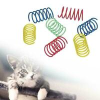 Kitten Cat Playing Toy Bright Color Springs Pets Supplies Randomly 2019