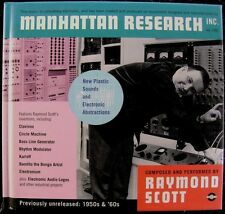 Raymond Scott:  Manhattan Research, Inc. (Jazz) (CD,2000, 2 Discs & Book)