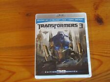 TRANSFORMERS 3 (La Face Cachée De La Lune) Blu-ray + DVD (Lot)