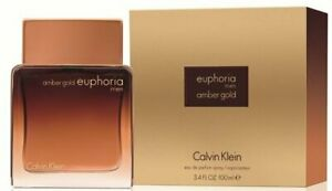 Euphoria Amber Gold by Calvin Klein cologne for men EDP 3.3 / 3.4 oz New in Box