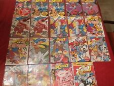 X-FORCE: HUGE LOT, NEARLY 20 BOOKS:1-13 (INCOMPLETE) 1 2 3 4 5 6+DUPES; NOT CGC