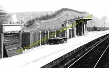 Bollington Railway Station Photo. Macclesfield - Poynton GCR + North Staffs (1)
