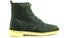[DESERT MALI-09446] CLARKS LEATHER BOOT MENS SHOES CLARKSNAVY LEATHER CUIR MARIN