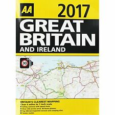 AA 2017 Great Britain and Ireland Road Atlas Book The Cheap Fast Free Post