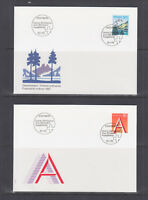 Switzerland Mi 1489/1510, 1993 issues, 8 complete sets on 8 official FDCs