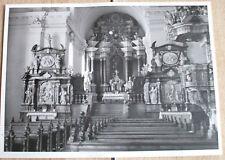 Foto 1955: Goslar Harz Grauhof Stiftskirche St. Georg Innenaufnahme