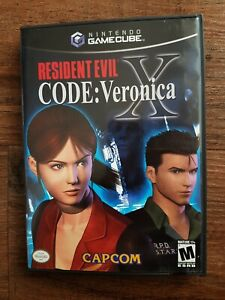 Resident Evil Code Veronica X Gamecube NTSC USA EXCELLENT condition