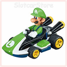 "Carrera Go 64034 Nintendo Mario Kart 8 Luigi"""" 1:43 CAR AUTO"