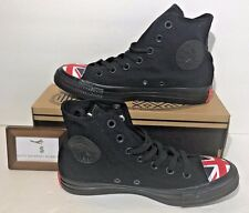 CONVERSE WOMENS SIZE 7 CHUCK TAYLOR ALL STAR HI UNION JACK ENGLAND UK SHOES NEW