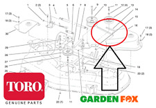 """Genuine TORO 270H - 52"""" DECK (78252) - Deck BLADE BELT 102742 or 94-2501 -749 #V"""