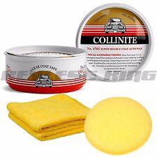 Collinite 476 #476S Double Coat Auto Car Carnauba Wax Can 9oz Fresh Combo