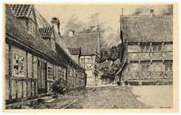 Aarhus Århus ~1930/40 Danmark Den gamle By Dänemark alte Postkarte Kunst-AK