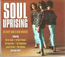 SOUL UPRISING 50 EARLY SOUL & R&B NUGGETS - 2 CD BOX SET