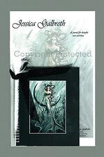 EMERALD PRINCESS MERMAID JOURNAL Fairy Diary Jessica Galbreth faerie faery