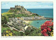 Mont Orgueil Castle & Gorey Harbour, Jersey postcard