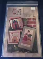Art to Heart - Home Sweet Home Wall Quilt Patterns - 3 Different Designs