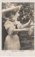 Vintage MISS MARIE STUDHOLME Stage Actress/Singer ANTIQUE POSTCARD c1900-1910