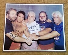 NWA AWA WWE WWF TNT WCW WWWF TNA The Four IV 4 Horsemen Ric Rick Flair 16X20 coa