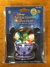 Disneyland Die cast TEA PARTY Fantasyland Attractions Collection MIB Vehicle